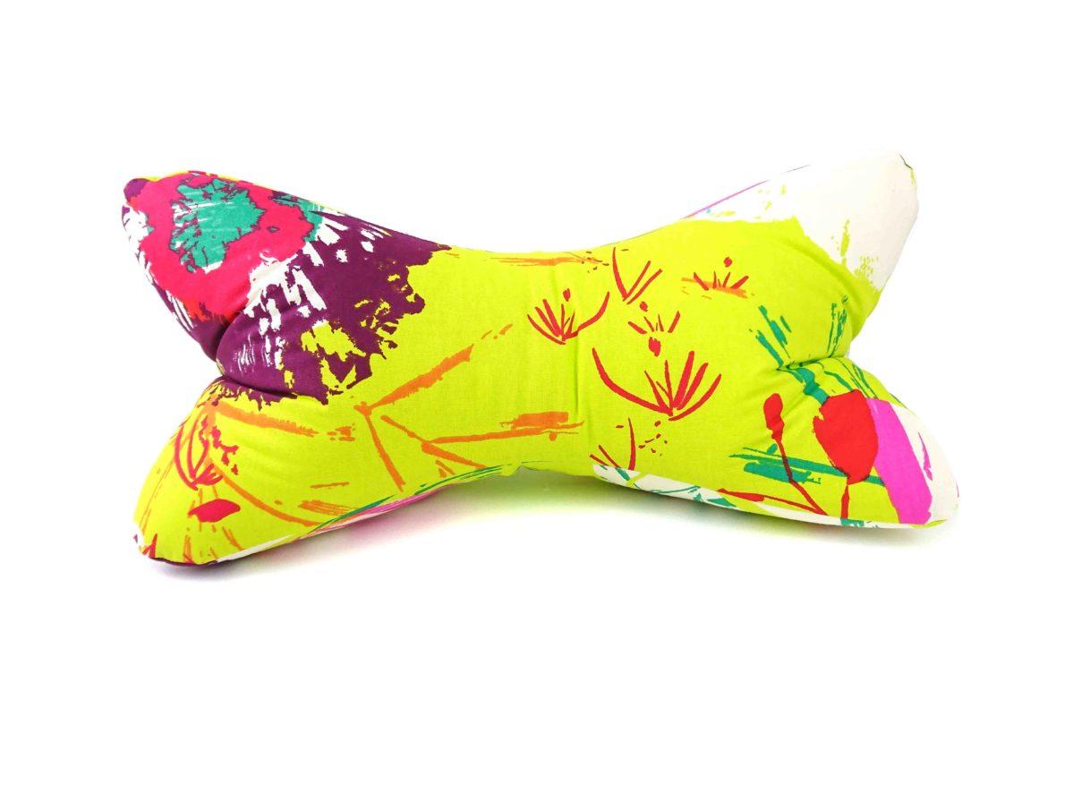 Leseknochen – Blume gelb/bunt