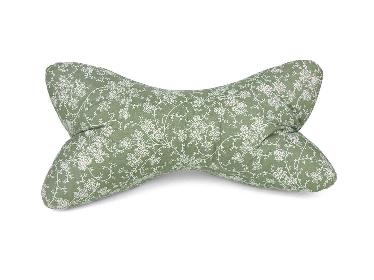 Leseknochen – große Ranken weiß/grün