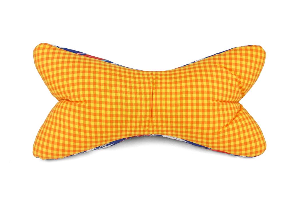 Leseknochen-Kolibri-gelb-Vorderseite