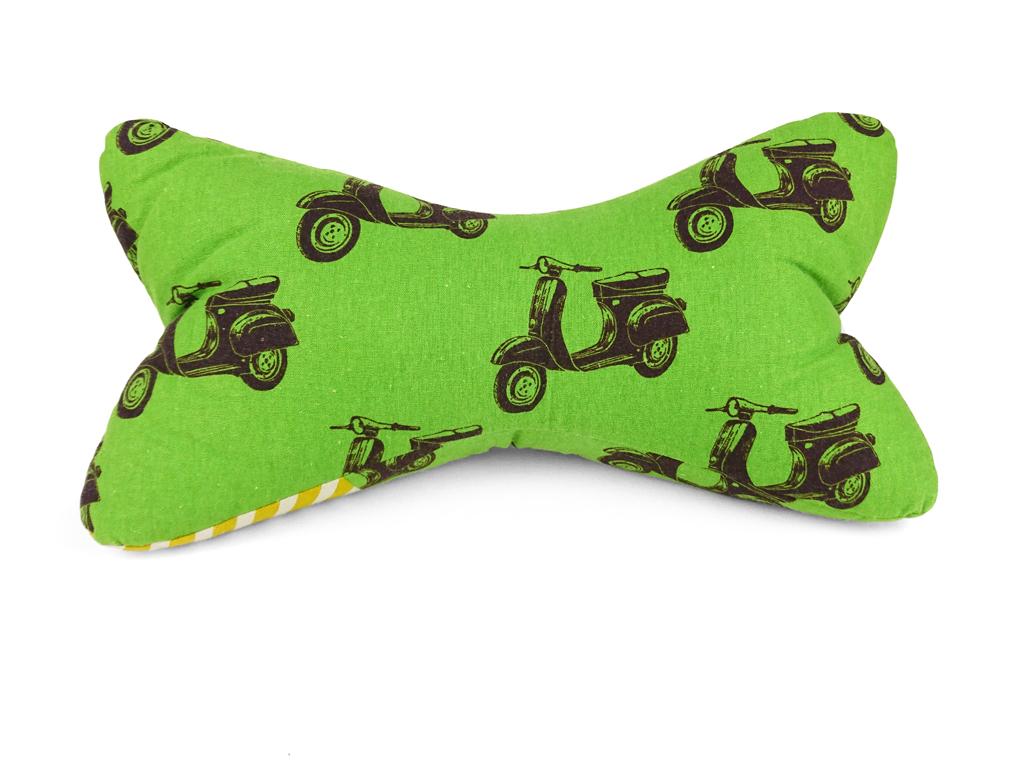 Leseknochen – Motorroller grün