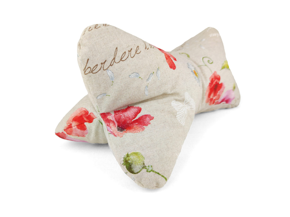 Leseknochen –  Mohnblumen – Scarlet