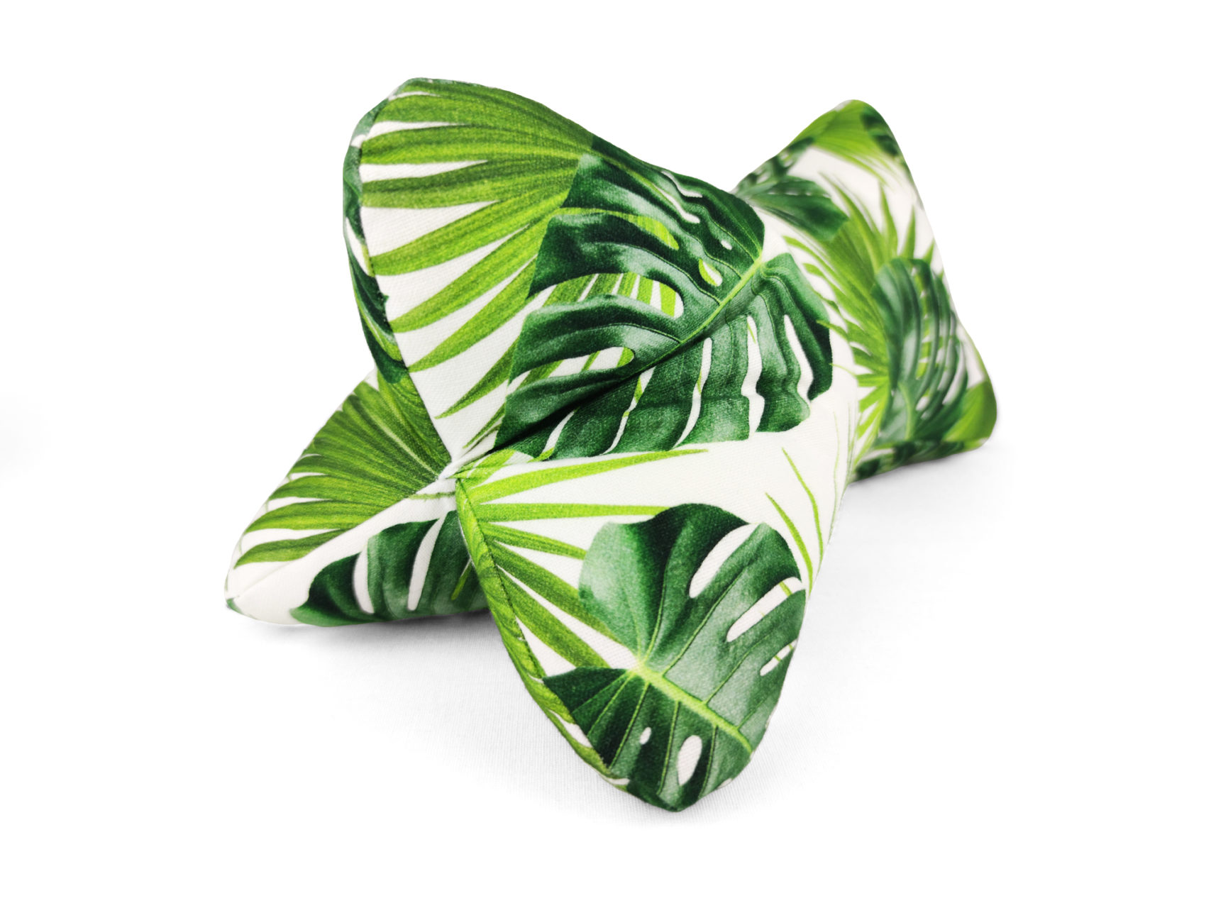 Leseknochen living green grüne Monstera Blätter