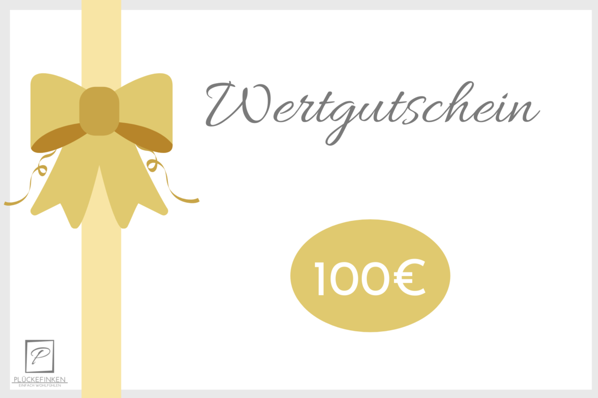 Geschenkgutschein – 100€