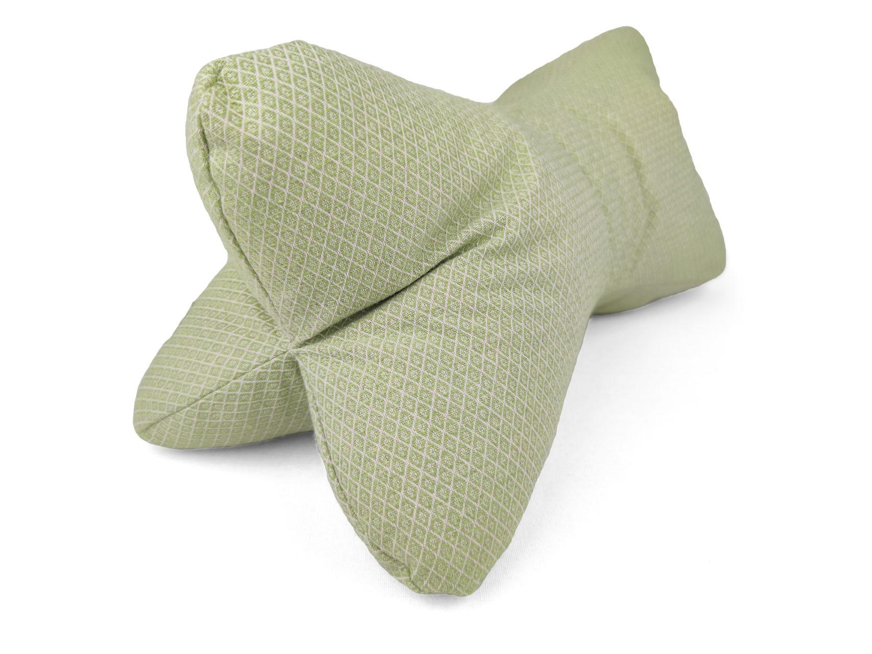 Leseknochen-hellgrün-Rauten-2