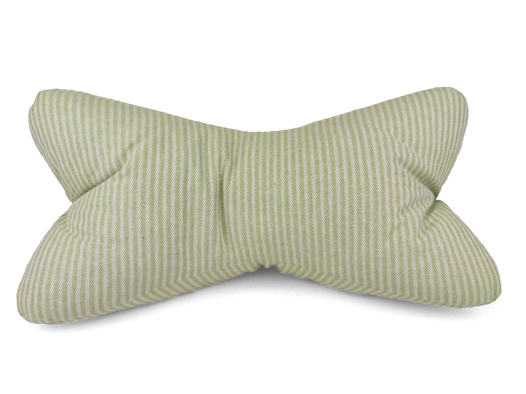 Leseknochen-hellgrün-Streifen-1