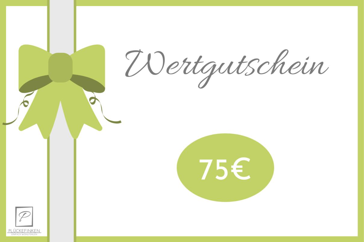 Geschenkgutschein – 75€