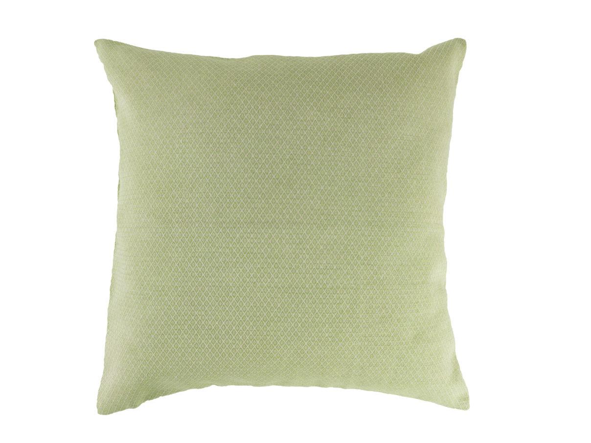 Kissenbezug 40×40 – Rauten hellgrün