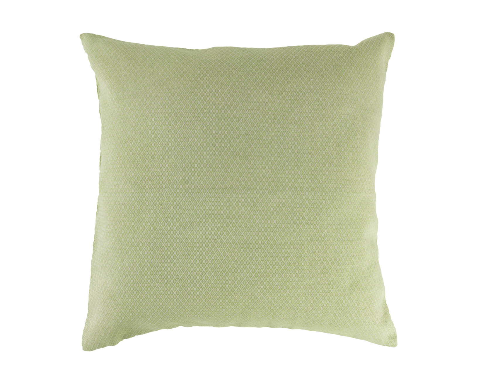 Kissen-40x40-cm-Rauten-hellgrün