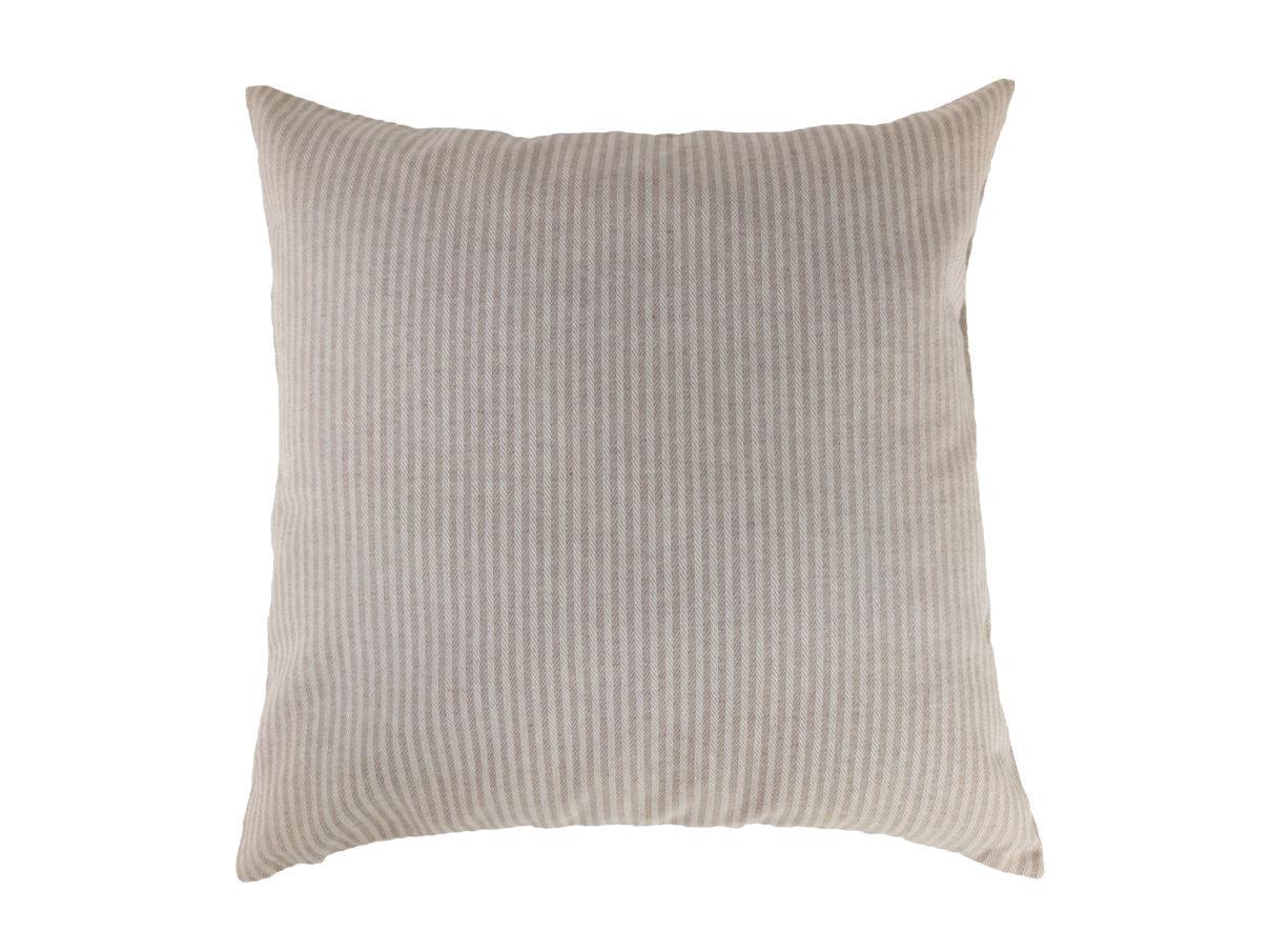 Kissenbezug 40×40 – Streifen beige