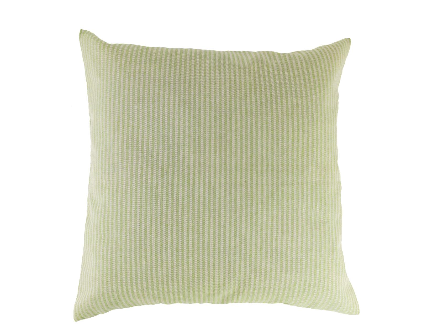 Kissen-40x40-cm-Streifen-hellgrün