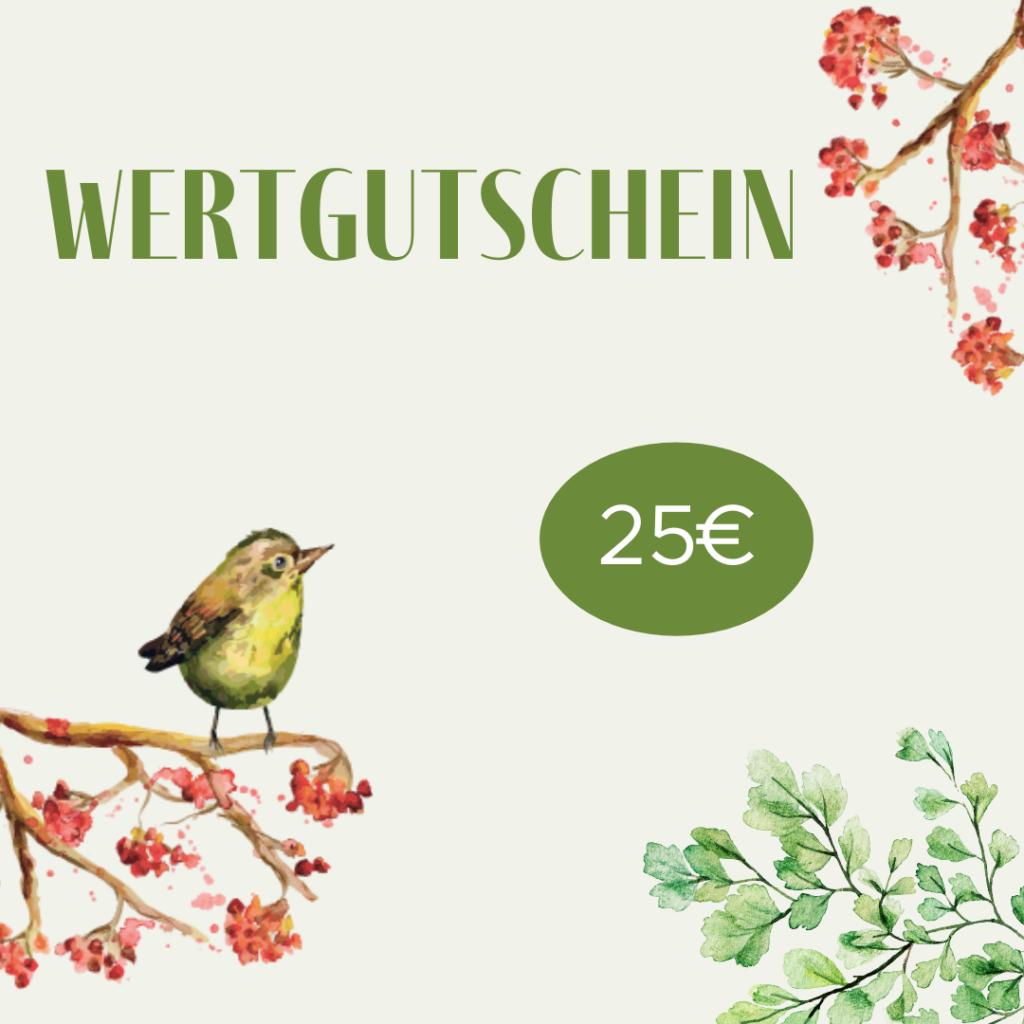 Geschenkgutschein – 25€