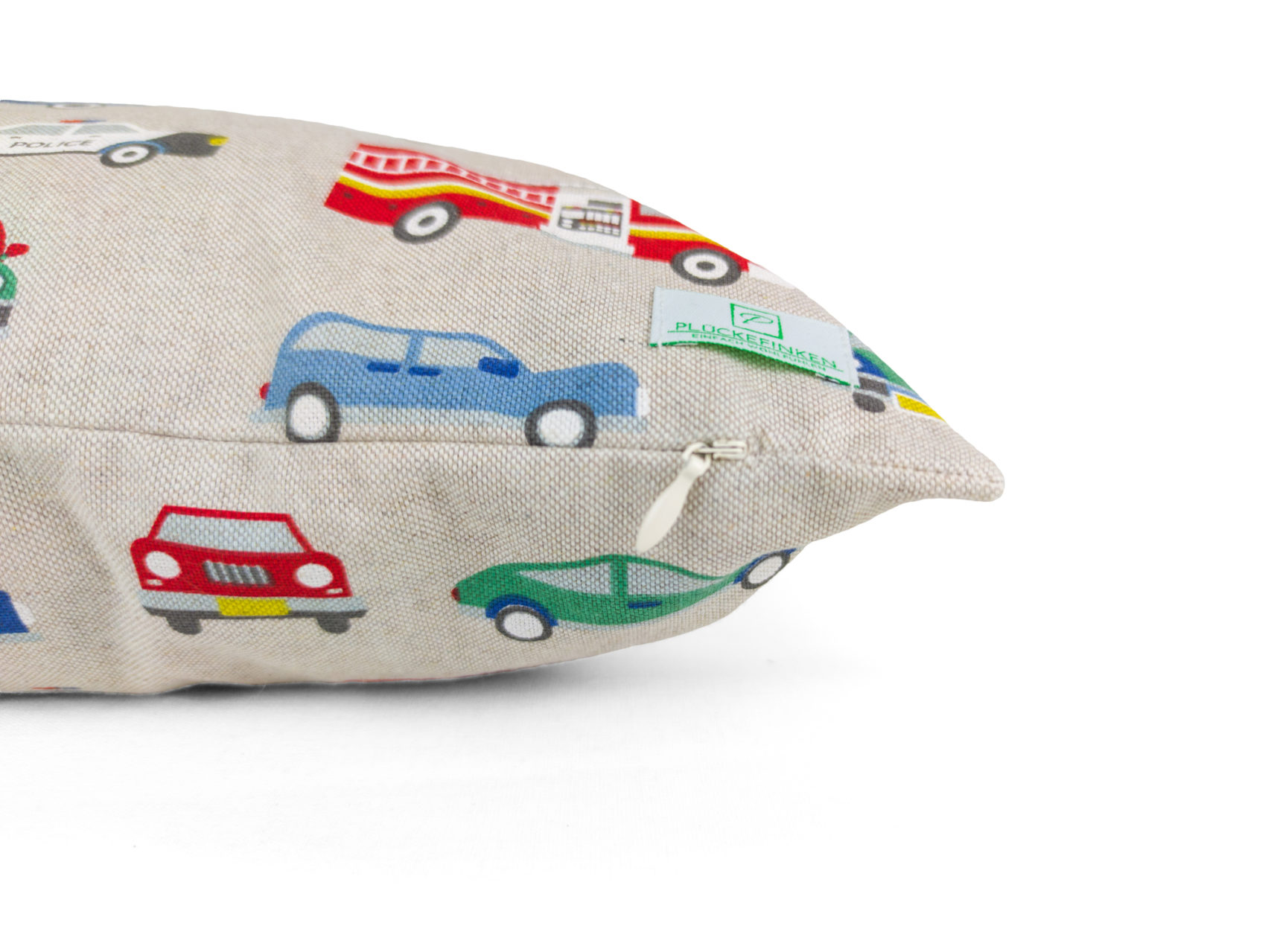 Kinder-Kissenbezug-40x40cm-Autos-bunt
