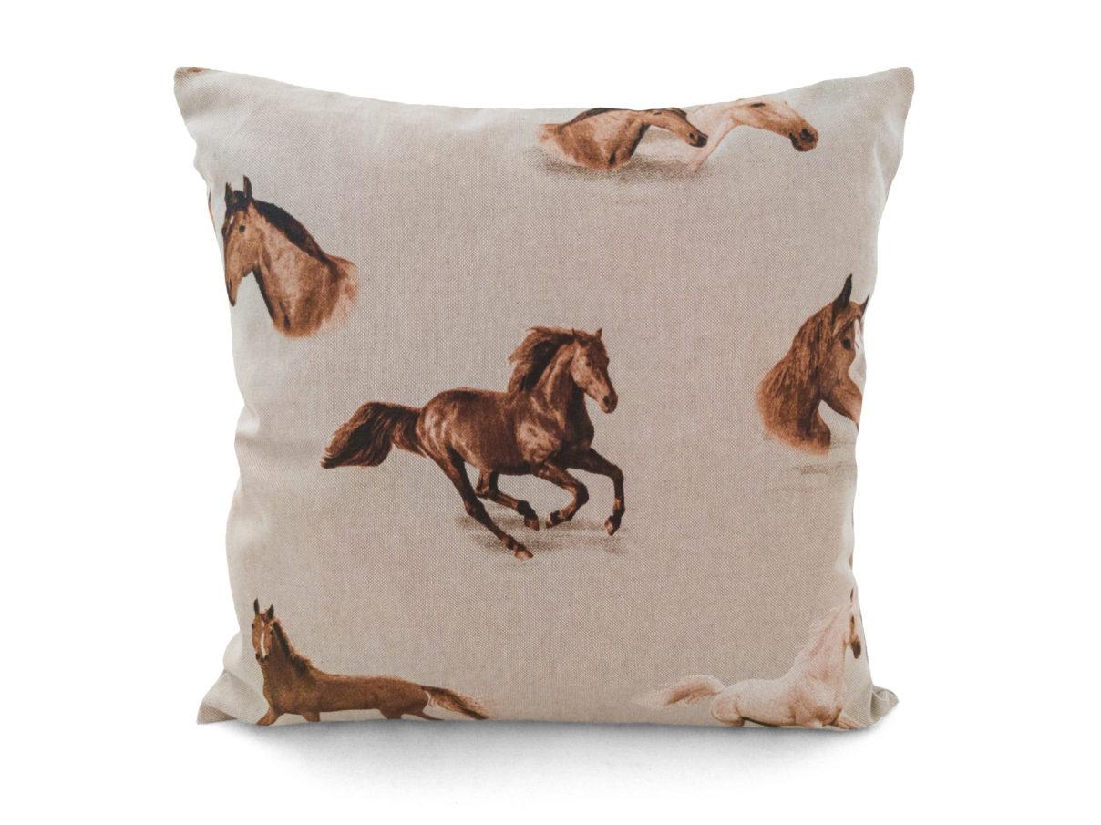 Kissenbezug 40x40cm – Pferde
